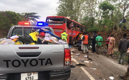Updated: 55 deaths Confirmed in Kintampo Accident