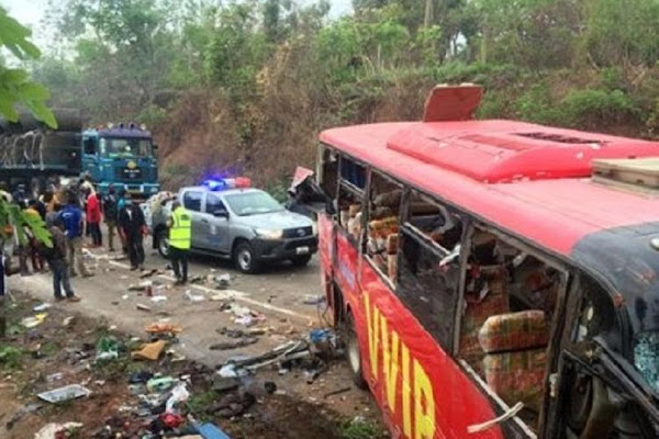 More than 50 passengers killed in bus Accident in Ghana
