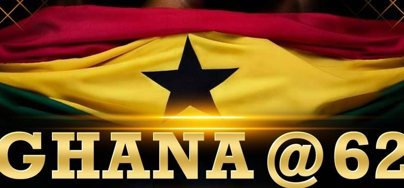 Ghana Celebrates 62 years of Independence Today